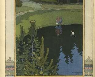 Иллюстрация к сказке 'Белая уточка' — Иван Билибин