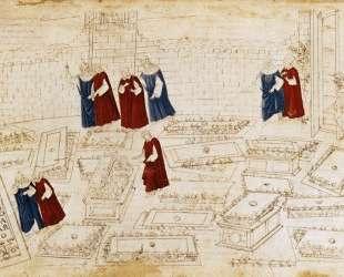 Иллюстрация к 'Божественной комедии' (Ад) — Сандро Ботичелли