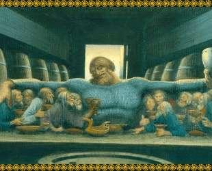 Ilya Muromets and beggars Taverns — Константин Васильев