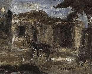 In armenian village — Мартирос Сарьян