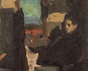 В купе — Константин Коровин