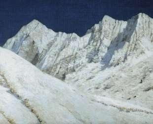 In India. Himalayas snow — Василий Верещагин