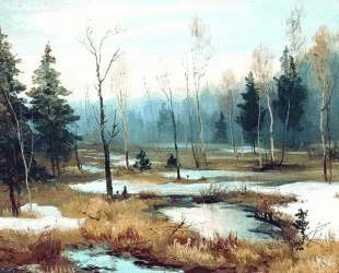 In Late winter — Ефим Волков