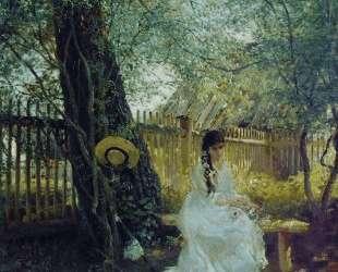 В саду — Константин Маковский