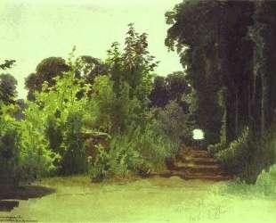 In the Grove of Medon near Paris — Иван Крамской