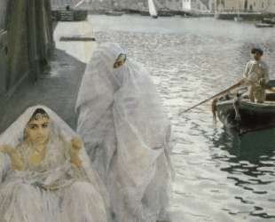 In the Harbour of Algiers — Андерс Цорн