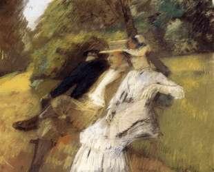 In The Park — Юлиус Леблан Стюарт