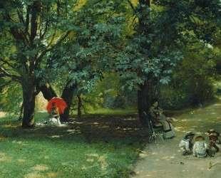 В парке — Константин Маковский