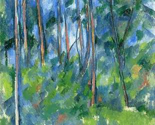 In the Woods — Поль Сезанн