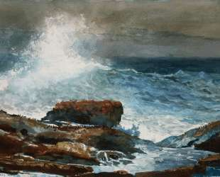 Incoming Tide, Scarboro Maine — Уинслоу Хомер