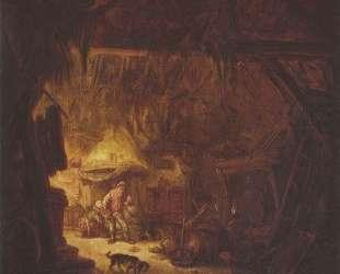 Interior of a Peasant House — Исаак ван Остаде