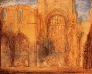 Interior of Fountains Abbey, Yorkshire — Уильям Тёрнер