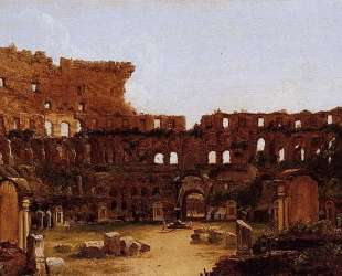 Interior of the Colosseum, Rome — Томас Коул