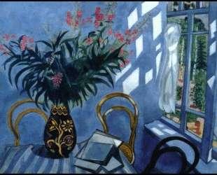 Интерьер с цветами — Марк Шагал