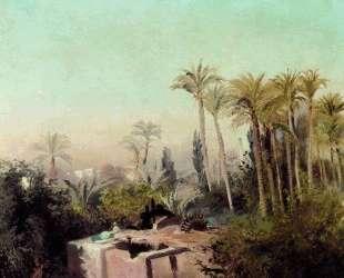 Оросительная система в Египте — Константин Маковский