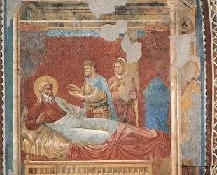 Isaac Rejecting Esau — Джотто