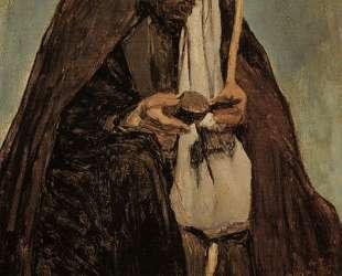 Итальянский монах читает — Камиль Коро