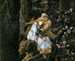 Ivan Tsarevich Riding the Grey Wolf — Виктор Васнецов