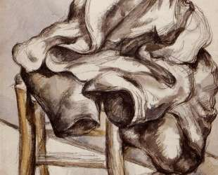 Jacket on a Chair — Поль Сезанн