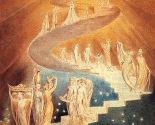Лестница Иакова — Уильям Блейк