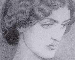 Jane Morris — Данте Габриэль Россетти