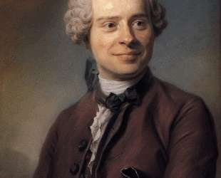 Jean Le Rond d'Alembert — Морис Кантен де Латур