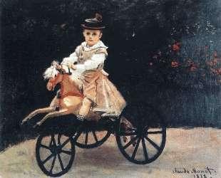 Жан Моне на лошадке — Клод Моне