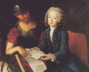 Jean Philippe Baratier presented by Minerva, German scholar — Антуан Пэн