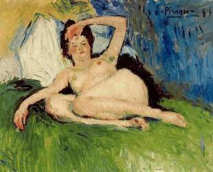 Jeanne (Reclining nude) — Пабло Пикассо