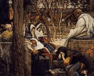 Jesus at Bethany — Джеймс Тиссо