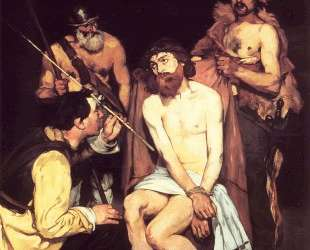 Jesus mocked by the Soldiers — Эдуард Мане