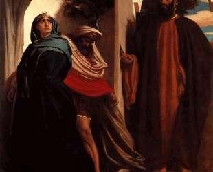 Jezebel and Ahab Met by Elijah — Фредерик Лейтон