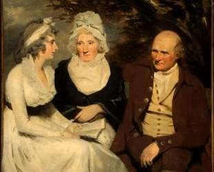 John Johnstone, Betty Johnstone, and Miss Wedderburn — Генри Реборн