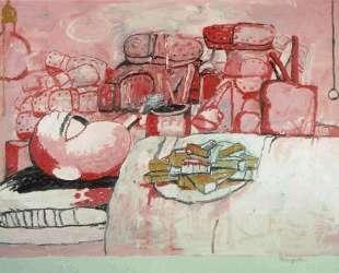 Painting, Smoking, Eating — Филипп Густон