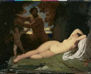 Юпитер и Антиопа — Жан Огюст Доминик Энгр