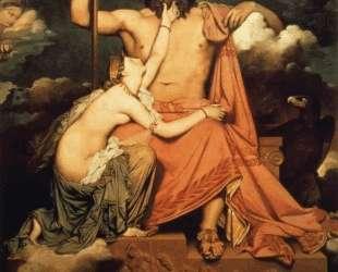 Юпитер и Фетида — Жан Огюст Доминик Энгр