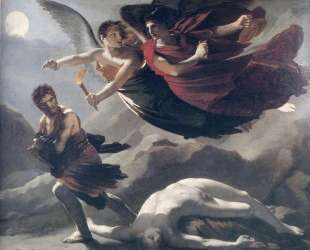 Justice and Divine Vengeance pursuing Crime — Пьер Поль Прюдон