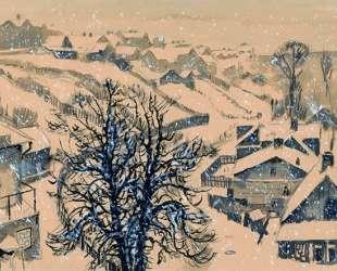 Kaunas. Zhalyakalnis winter. — Мстислав Добужинский