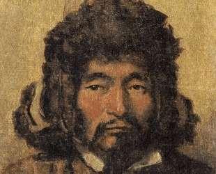 Kazakh with fur hat — Василий Верещагин