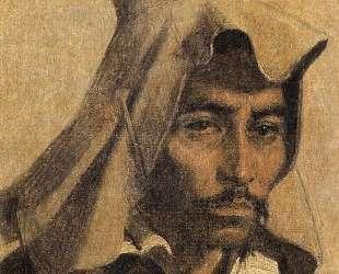 Kazakh with his national headdress — Василий Верещагин