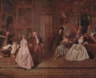 L'Enseigne de Gersaint — Антуан Ватто