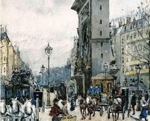La Porte San Denis — Морис Прендергаст