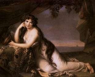 Lady Hamilton as Ariadne — Элизабет Луиза Виже-Лебрен