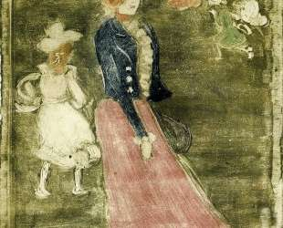 Lady in a Pink Skirt — Морис Прендергаст