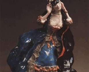 Дама, снимающая маску — Константин Сомов