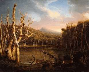 Lake with Dead Trees (Catskill) — Томас Коул