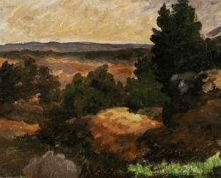 Landscape — Поль Сезанн