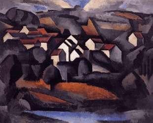 Landscape at Ferte Soud Jouarre — Роже де ла Френе