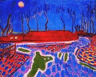 Landscape by Moonlight II — Ян Слёйтерс
