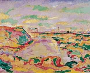 Пейзаж близ Антверпена — Жорж Брак